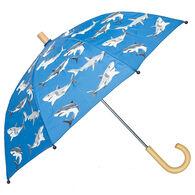 Hatley Deep-Sea Sharks Color Changing Umbrella