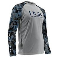 Huk Kryptek Performance Vented Long-Sleeve Fishing Shirt
