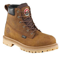 Irish Setter Men's Hopkins Waterproof Lug Sole Aluminum Toe Safety Work Boot