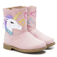 Rachel Shoes Toddler Girls' Unicorn Boot
