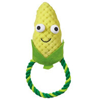 Grriggles Happy Veggies Rope Tugs Dog Toy