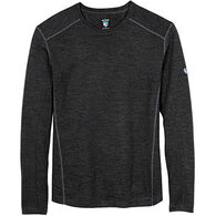 Kuhl Men's Skar Wool Crew-Neck Long-Sleeve Shirt