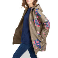 Joules Women's Dockland Reversible Raincoat