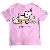 Puppie Love Girl's Ice Cream Pup Short-Sleeve T-Shirt