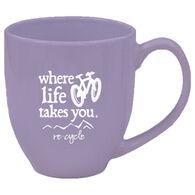Where Life Takes You Mountain Bike Mug