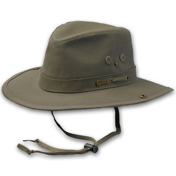 Outback Trading Mens Canvas River Guide Hat