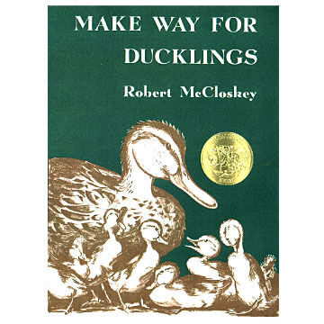 Make Way for Ducklings by Robert McCloskey: Paperback