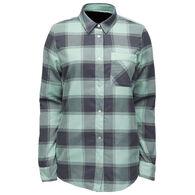 Flylow Gear Women's Penny Insulated Long-Sleeve Flannel Shirt