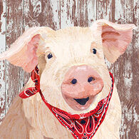 Paperproducts Design Charlotte Pig Beverage Napkin