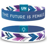 Unselfie Women's Future Is Female Wrist Band