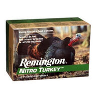 "Remington Nitro Turkey 12 GA 3-1/2"" 2 oz. #5 Buffered Shotshell Ammo (10)"