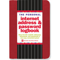 Personal Internet Address & Password Logbook by Peter Pauper Press
