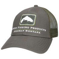 Simms Small Fit Trout Icon Trucker Hat