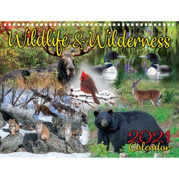 Maine Scene Maine Wildlife and Wilderness 2021 Wall Calendar