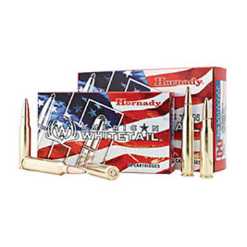 Hornady American Whitetail 30-06 Springfield 150 Grain InterLock SP Rifle Ammo (20)