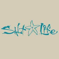 Salt Life Signature Starfish Decal - Teal