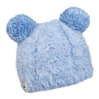 Turtle Fur Girls' Fluff Balls Pom Beanie Hat