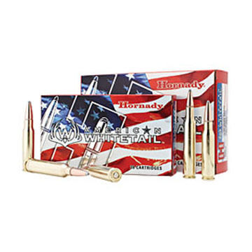 Hornady American Whitetail 25-06 Remington 117 Grain InterLock BTSP Rifle Ammo (20)