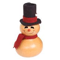 Meadowbrooke Gourds Gavin Small Boy Snowman Gourd