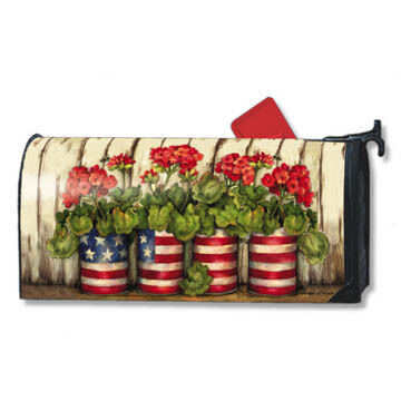 MailWraps Glory Garden Magnetic Mailbox Cover