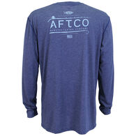 AFTCO Men's Fishtale Performance Long-Sleeve T-Shirt