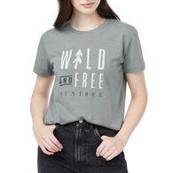 tentree Women's Wild & Free Short-Sleeve T-Shirt