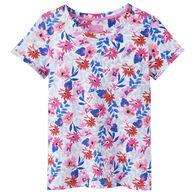 Joules Women's Nessa Print Jersey Short-Sleeve T-Shirt