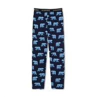 Hatley Little Blue House Men's Papa Bear Jersey Pajama Pant