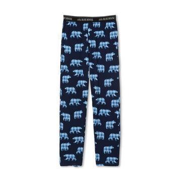 Hatley Little Blue House Mens Papa Bear Jersey Pajama Pant