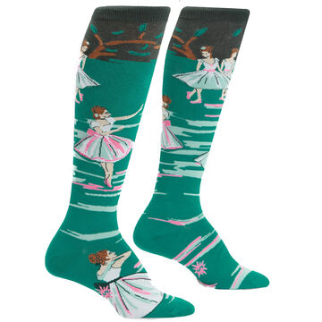 Sock It To Me Womens The Rehearsal Knee High Sock