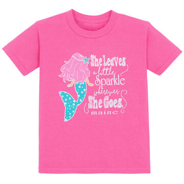 Lakeshirts Toddler Mermaid Shimmer Short-Sleeve T-Shirt