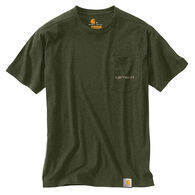 Carhartt Men's Big & Tall Maddock Graphics Fishing 1889 Short-Sleeve T-Shirt