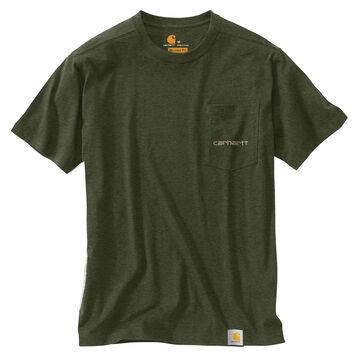 Carhartt Mens Big & Tall Maddock Graphics Fishing 1889 Short-Sleeve T-Shirt