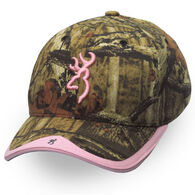 Browning Women's Gunner Camo Ball Cap