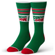 Odd Sox Unisex Mountain Dew Crew Sock