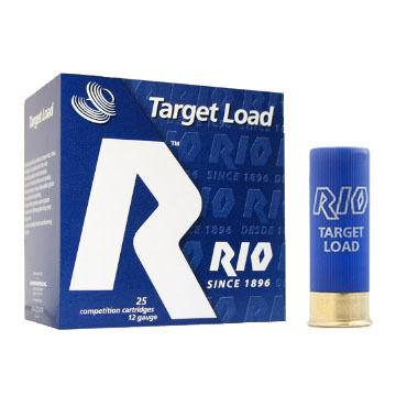 """Rio Target Load Trap 32 12 GA 2-3/4"""" 1-1/8 oz. #8 Shotshell Ammo (25)"""