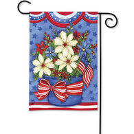 BreezeArt American Beauty Decorative Garden Flag