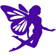 Sticker Cabana Purple Fairy Sticker