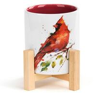 Big Sky Carvers Cardinal Mini Planter