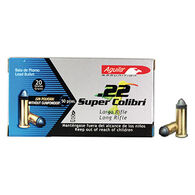 Aguila Super Colibri 22 LR 20 Grain Lead Solid Point Rimfire Ammo (50)