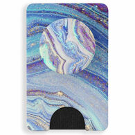 PopSockets PopWallet+ Lilac Agate Card Holder