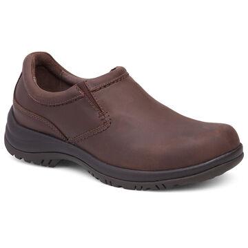 Dansko Mens Wynn Leather Double Gore Slip-On Shoe