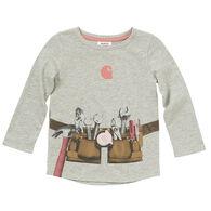Carhartt Toddler Girl's Tool Belt Long-Sleeve Shirt
