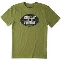 Life is Good Men's Sunday Funday Crusher Short-Sleeve T-Shirt