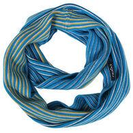 V. Fraas Women's Mini Stripe Loop Scarf