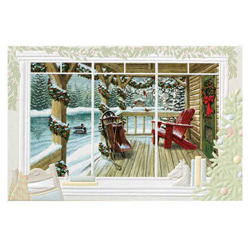 Pumpernickel Press Loon Lake Deluxe Boxed Greeting Cards