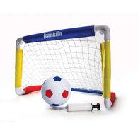 "Franklin Sports 24"" Soccer Goal w/ Ball & Pump"
