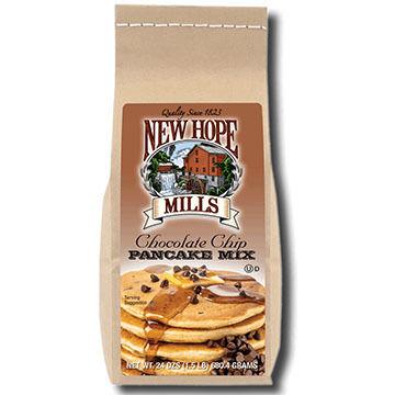 New Hope Mills Chocolate Chip Pancake & Cookie Mix, 24 oz.
