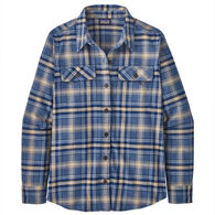 Patagonia Women's Organic Cotton Midweight Fjord Flannel Long-Sleeve Shirt