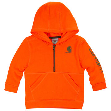 Carhartt Infant/Toddler Boys' Logo Fleece Half-Zip Sweatshirt